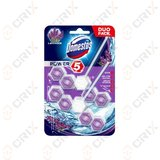 Domestos Power 5 lavender duo pack Odorizant toaleta 2x55g